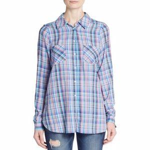 [Joie] Aidan Plaid Shirt